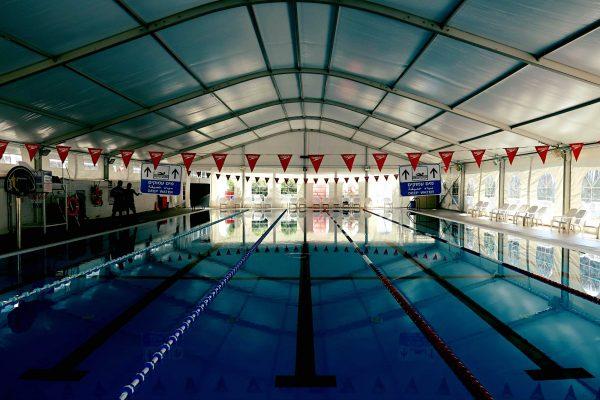 קירוי בריכות שחייה אולימפיות
