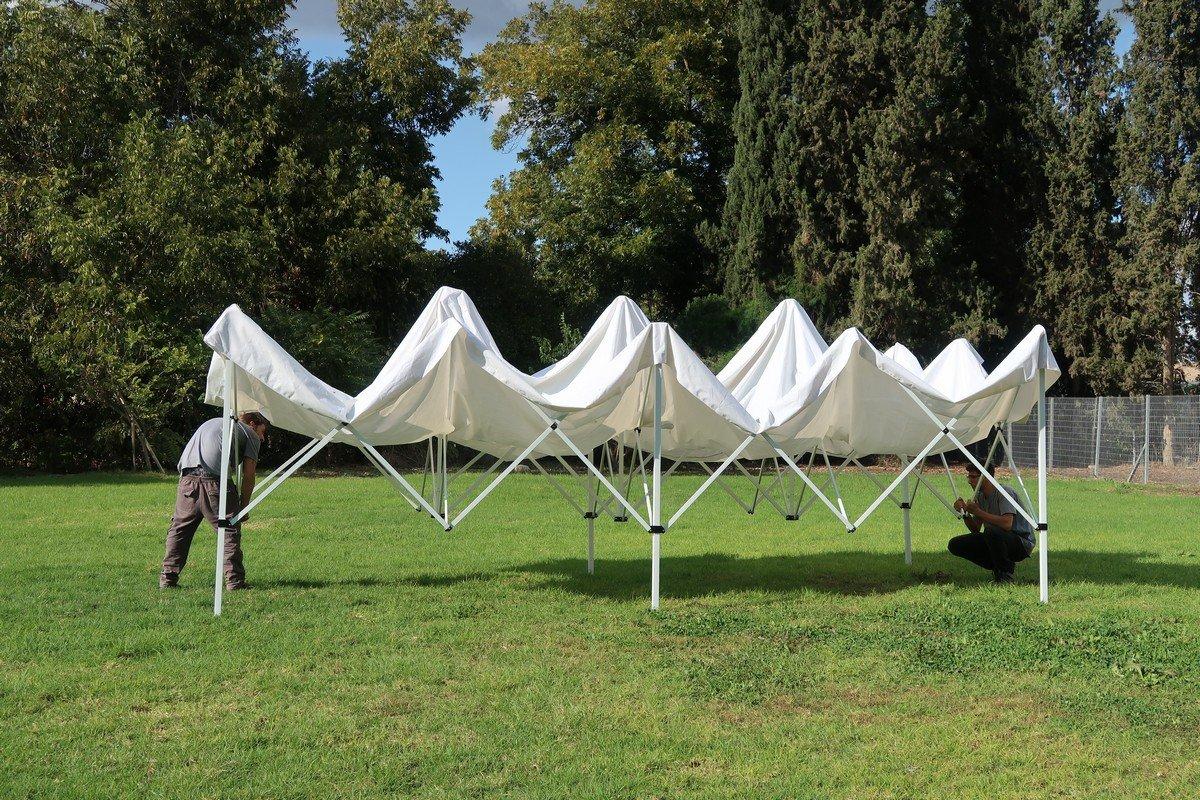 פתיחת אוהלים מתקפלים