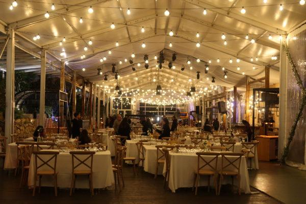 אוהל קונסטרוקציה לאולם אירועים