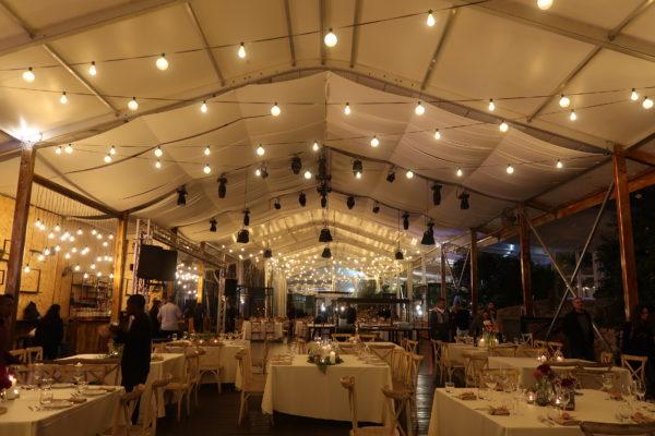 אוהל קונסטרוקציה לגן אירועים