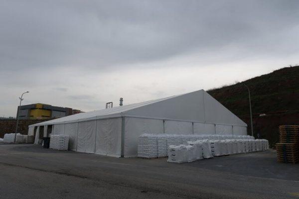 אוהל קונסטרוקציה לאחסנה