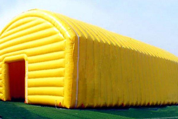 אוהל צהוב מתנפח