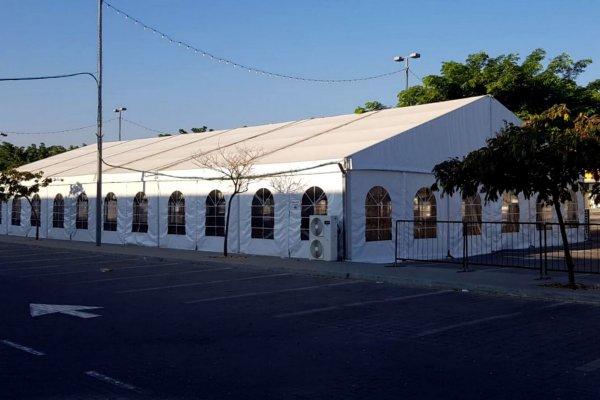 אוהל חורף מודולרי